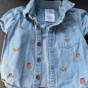 Baby Lion king button up